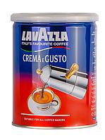 Молотый кофе Lavazza Crema e Gusto железная банка 250 гр