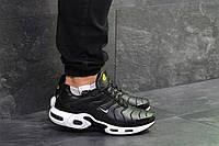 Мужские кроссовки в стиле Nike Air Max TN Black/White, черные 46 (30 см)
