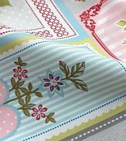 Ткань для штор покрывал в стиле шебби шик