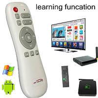 Беспроводной манипулятор 2.4G Mini wireless air mouse для Android TV BOX (обучаемый)