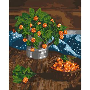 "Картина по номерам Идейка ""Царские ягоды"" 40х50см KHO5575"