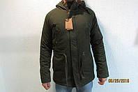 Мужская куртка-парка Malyate Classics 17238 темное хаки код 232б