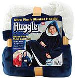 Плед с капюшоном и рукавами HUGGLE HOODIE DL34, фото 2