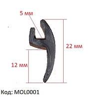 Уплотнитель лобового стекла, универсальная уплотнительная резинка, MOL0001