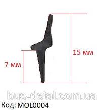 Евромолдинг, лепесток, резинка лобового стекла, MOL0004