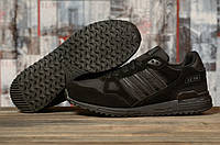 Кроссовки мужские 16763, Adidas ZX 750, черные, < 41 43 44 45 > р.41-26,5, фото 1