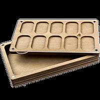 Органайзер для бисера многоярусный с крышкой FLZB-083