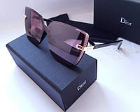 New- женские брендовые очки Dior  3989 S  - polarized.  Цвет марсала