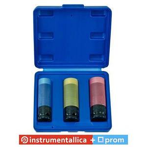 Набор ударных головок тонкостенных особо прочных, 17,19,21 мм ANSK01 Licota