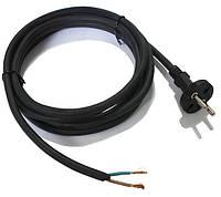 Шнур сетевой к электроинструменту 2*1.0, 3м