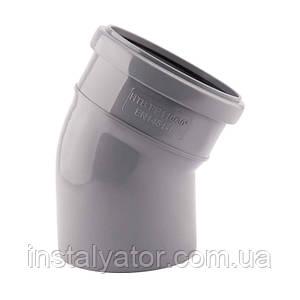 Колено PPR TA Sewage 110х110, 22°