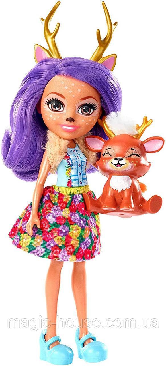 Лялечка Enchantimals Данесса Олень і її вихованець Спринт Danessa Deer