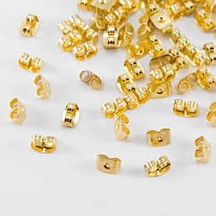 Заглушки Monisto Железо 5х3.5мм Отверстие 0.8-1мм Цвет: Золото 100шт