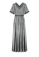 Faberlic женское Платье с кружевом цвет черный размер 40 42 44 46 48 50 52 54 56 Новогодняя коллекция 168W4106 арт 521187