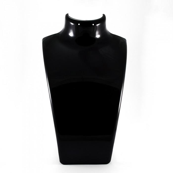 Бюст из Органического Стекла, Черный, Размер: Высота 21 см, Ширина 13.5 см, Толщина 6.4 см/ Упак.: 1 шт