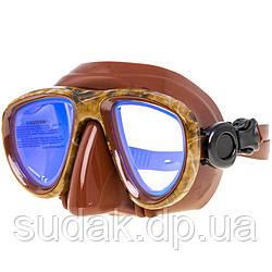 Маска Marllin Camo brown (просветленные стекла)