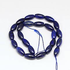 Бусины Monisto Натуральный Лазурит 16х8мм Цвет: Синий около 24шт/нить