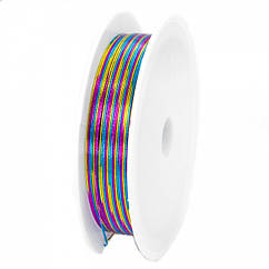 Железная Проволока 0.5мм/7м, Цвет: Разноцветный, Толщина 0.5мм, 7м/катушка