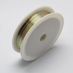 Проволока Железная Monisto 0.3мм Цвет: Разноцветный около 20м/катушка