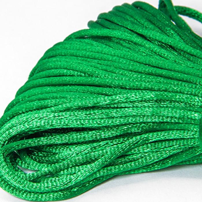 Шнур Monisto Полиэстер 2мм Цвет: Зеленый 1связка