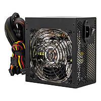 Блок питания Logicpower ATX-500W, 12см LED Fan, 2хIDE, 3хSATA, 8Pin(4+4), 8Pin(6+2), 24Pin, OEM, без каб.пит. (LP10720)