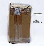 Шкаф 4U, 600x350x284мм (Ш * Г * В), эконом, акриловое стекло, чёрный, фото 4