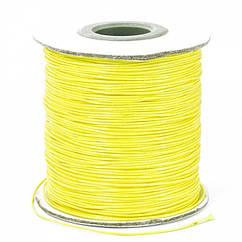 Шнур Monisto Вощеный Полиэстер 0.5мм Цвет: Желтый 10м