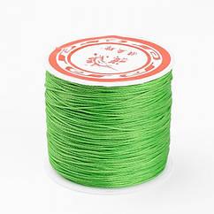 Шнур Monisto Вощеный Полиэстер 0.7мм Цвет: Светло-Зеленый 10м