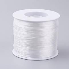 Нить Monisto Эластичное Волокно 0.5мм Цвет: Белый 1катушка
