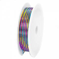 Железная Проволока, Цвет: Разноцветный, Толщина 0.4мм, 12м/катушка