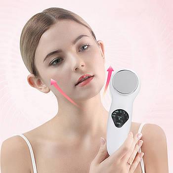 Ультразвуковой массажер для лица Lesko BC-1901 косметологический аппарат подтяжка массаж лица дома