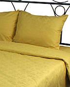 Наволочка на подушку Руно 50*70 см сатин-жаккард арт.35.137ЖК_Золото