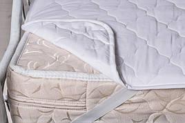 Наматрасник Руно 120*190 см бязь/силиконизированное волокно на резинках арт.823.04СУ