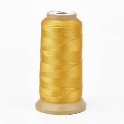 Шнур Monisto Полиэстер 0.2мм Цвет: Золото 1катушка