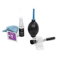 Комплект Lesko для чистки оптики 7 в 1 чистящее средство (3404-9430)