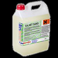 Антисептик на основе спирта и четвертичных аммониевых соединений. Salnet Sano канистра 5л.
