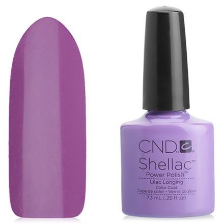 УЦІНКА Гель-лак CND Shellac Lilac Longing (ліловий емаль)