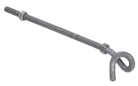 Крюк спиральный КСА12-300/200 (BQC 12-300), ИЕК [UKS-12-12-300]
