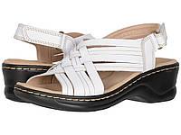 Туфли на каблуке Clarks Lexi Carmen White Leather, фото 1