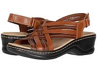 Туфли на каблуке Clarks Lexi Carmen Tan Leather, фото 1