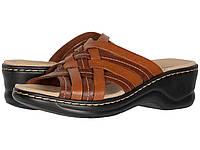 Туфли на каблуке (Оригинал) Clarks Lexi Selina Mahogany Leather