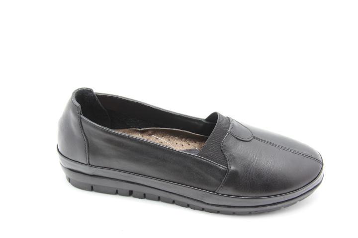 Туфлі жіночі на широку ногу Izderi 5851-Siyah