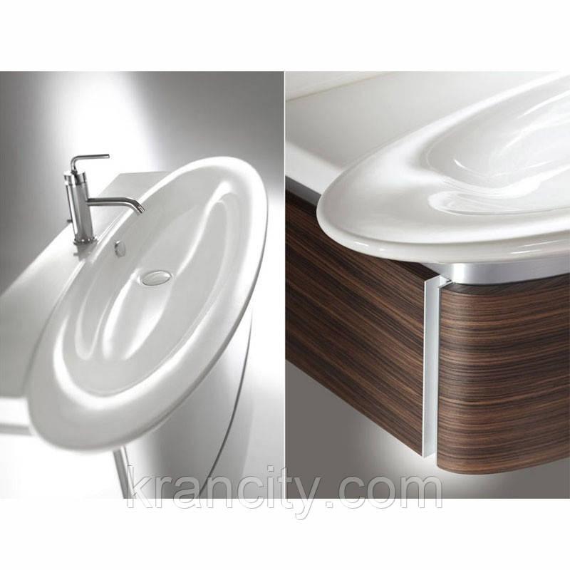 Умывальник Jacob Delafon Presquile E4437-00 ,раковина в ванную белая со столешнице 80см.,фарфор