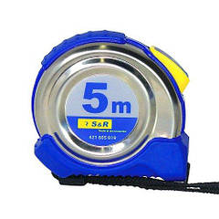 Рулетка S&R 5м  Ferro 421605019