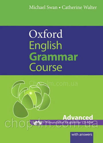 Книга Oxford English Grammar Course Advanced with answers and CD-ROM
