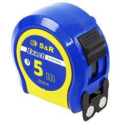Рулетка S&R Exact 5x25 мм 422705025
