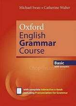 Oxford English Grammar Course New Edition Basic with answers and e-book / Грамматика