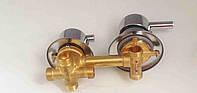 Смеситель для гидробокса на 4 положения под резьбу L12 (G-4/12)