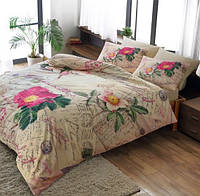 TAC комплект постельного белья мако сатин Anna pembe