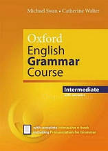 Oxford English Grammar Course New Edition Intermediate with answers and e-book / Грамматика